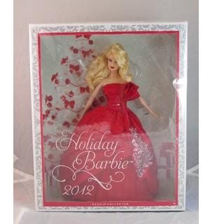 バービー(Barbie)のホリデーバービー2012年モデル(ぬいぐるみ/人形)
