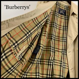BURBERRY - BURBERRY バーバリー トレンチコート ベージュ 袖・腰ベルト完備 美品