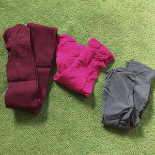 チュチュアンナ(tutuanna)のカラータイツ3色セット(靴下/タイツ)