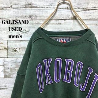 アメリヴィンテージ(Ameri VINTAGE)のGALTSAND メンズ スウェット トレーナー OKOBOJI ビッグサイズ(Tシャツ/カットソー(半袖/袖なし))