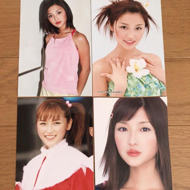モーニング娘。(モーニングムスメ)の石川梨華写真4枚セット エンタメ/ホビーのタレントグッズ(アイドルグッズ)の商品写真