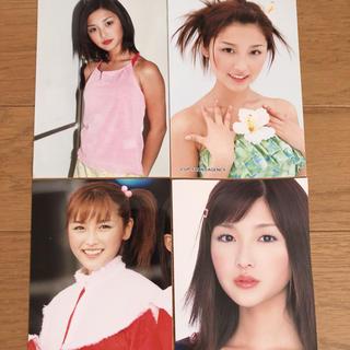 モーニングムスメ(モーニング娘。)の石川梨華写真4枚セット(アイドルグッズ)