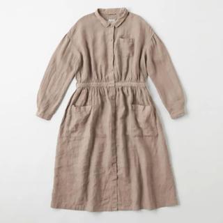 IDEE - IDEE POOL いろいろの服 アトリエシャツワンピース ミディアムグレー