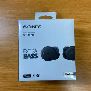 SONY - SONY WF-XB700 ワイヤレスイヤホン