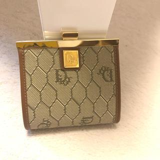 クリスチャンディオール(Christian Dior)のクリスチャンディオール☆がま口財布 美品(コインケース)