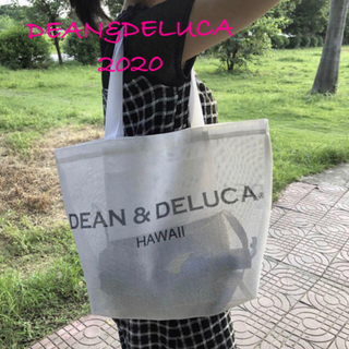 DEAN & DELUCA - DEAN&DELUCA ハワイ限定 トートバッグ ディーン&デルーカ ホワイト