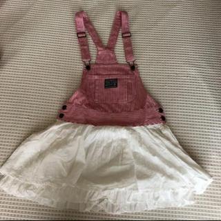リズリサドール(LIZ LISA doll)のリズリサドール ジャンパースカート(ミニワンピース)