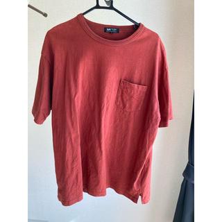 ビームス(BEAMS)のbeams ボルドーポテット付きヘビーTシャツ(Tシャツ/カットソー(半袖/袖なし))