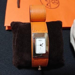エルメス(Hermes)のエルメス HERMES 腕時計 ミディ 27万☆シャネル ヴィトン フォクシー(腕時計)