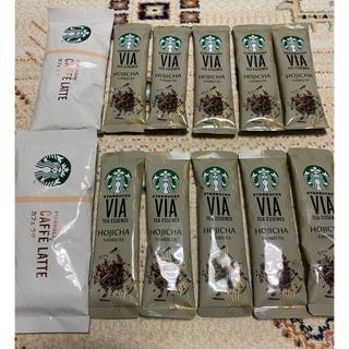 Starbucks Coffee - スターバックス VIA ほうじ茶 カフェラテ
