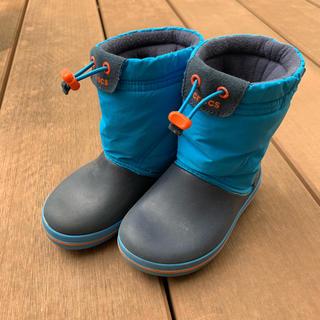 crocs - クロックスキッズ冬用長靴