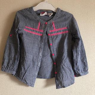 エイチアンドエム(H&M)のH&Mチェックシャツ100cm(ブラウス)