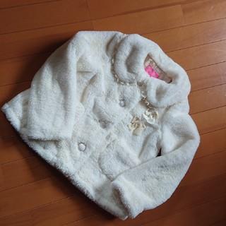 Shirley Temple - シャーリーテンプル ボア ジャケットコート サイズ M 115~130