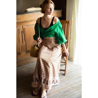 ロンハーマン(Ron Herman)のRHC ronherman 20ss  skirt(ロングスカート)