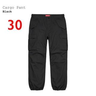 シュプリーム(Supreme)のsupreme cargo pant ブラック30(ワークパンツ/カーゴパンツ)