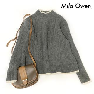 ミラオーウェン(Mila Owen)のMila Owen ミラオーウェン★ハイネック 長袖ニット セーター(ニット/セーター)