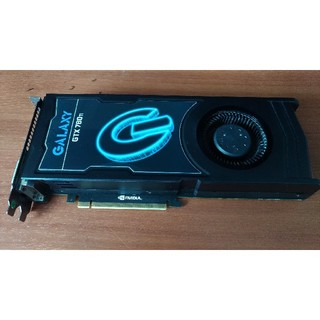 ギャラクシー(Galaxy)の【ちびたぬきさん専用】galaxy GeForce GTX780ti 付属品付(PCパーツ)