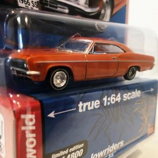 シボレー(Chevrolet)のAW/'66 Chevyシボレー Impalaインパラ SS 1/64 限定(ミニカー)