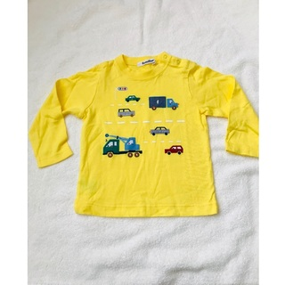 familiar - ファミリア 長袖 黄色 90