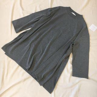 センスオブプレイスバイアーバンリサーチ(SENSE OF PLACE by URBAN RESEARCH)のSENSE OF PLACE センスオブプレイス ロングスリットT(Tシャツ(長袖/七分))
