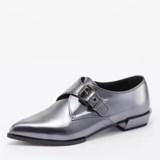 セルジオロッシ(Sergio Rossi)の【値下げ】Sergio Rossi フラットシューズ(ローファー/革靴)