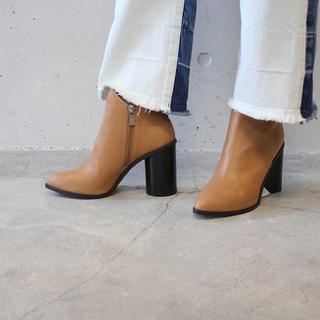 デミルクスビームス(Demi-Luxe BEAMS)のcinoh チノ ショートブーツ BEAMS(ブーツ)