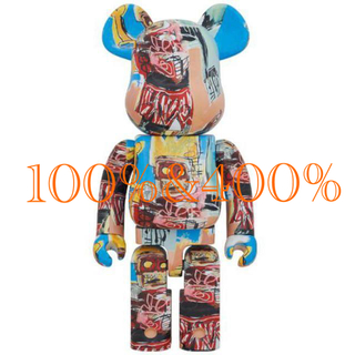 BE@RBRICK JEAN-MICHEL BASQUIAT #6 400%(その他)