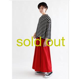 フォグリネンワーク(fog linen work)のfog linen work/ gigi tuck skirt ジジ スカート(ロングスカート)