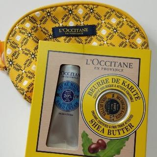 ロクシタン(L'OCCITANE)のロクシタン シア ハンドクリーム&ポーチ(ハンドクリーム)