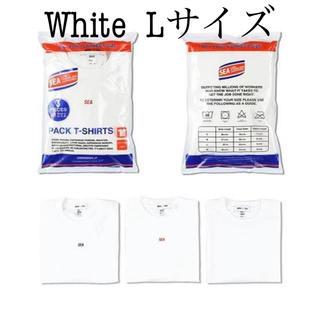 シュプリーム(Supreme)の【白L】WIND AND SEA パックT 1枚(Tシャツ/カットソー(半袖/袖なし))