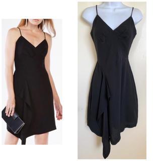 ビーシービージーマックスアズリア(BCBGMAXAZRIA)のBCBG cornelia ブラック ドレス $248(ミディアムドレス)
