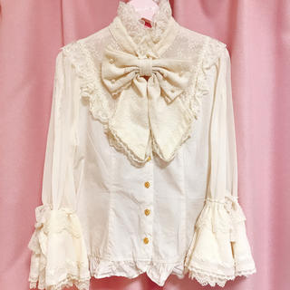 アンジェリックプリティー(Angelic Pretty)のAngelic Pretty Romantic Sweet Lacyブラウス(シャツ/ブラウス(長袖/七分))