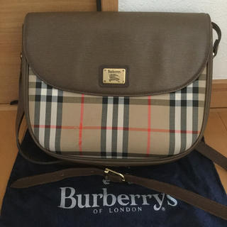 BURBERRY - Burberry バーバリー ノバチェック ショルダーバッグ 希少品