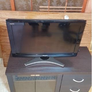 AQUOS - SHARP26型テレビ 中古
