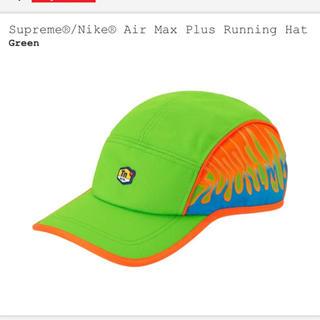 シュプリーム(Supreme)のNike Supreme air max plus running hat(キャップ)