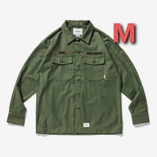 W)taps - [Mサイズ]20AW WTAPS BUDS / LS COTTON. SATIN