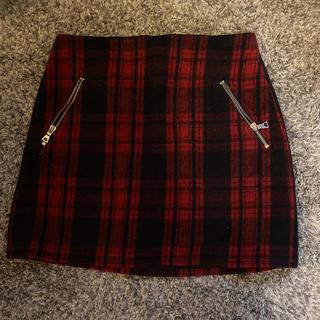 ギャップ(GAP)のGAP ♥ チェックウールミニスカート(ミニスカート)