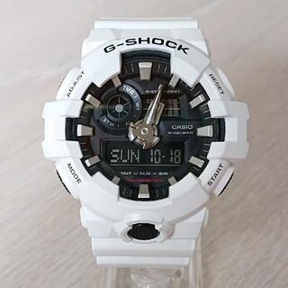 ジーショック(G-SHOCK)の美品【CASIO/G-SHOCK】デジアナ メンズ腕時計 GA-700-7AJF(腕時計(デジタル))