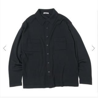 コモリ(COMOLI)のAURALEE- Super Fine Wool Knit Shirt 4(ニット/セーター)