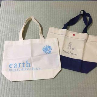 アースミュージックアンドエコロジー(earth music & ecology)のエコバッグ ショッパセット(エコバッグ)
