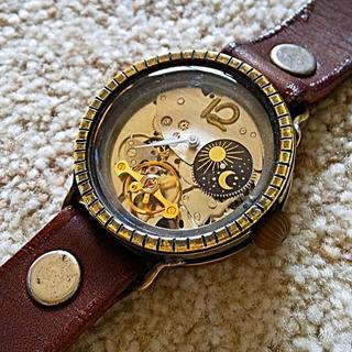 セイコー(SEIKO)のガタ 手巻き 腕時計 gata Smith wacth ハンドメイド 手作り(腕時計(アナログ))