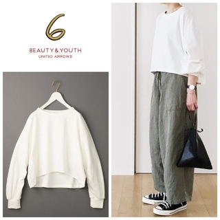 BEAUTY&YOUTH UNITED ARROWS - 6(ROKU)DOUBLE FACE PULLOVER/カットソー