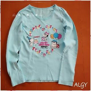 SNOOPY - 《ALGY》スヌーピープリント 長袖Tシャツ 150