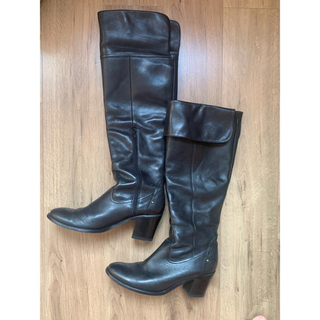 ギンザワシントン(銀座ワシントン)のロングブーツ ニーハイ'膝下丈 25.5cm(ブーツ)