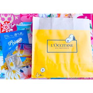 ロクシタン(L'OCCITANE)のロクシタン 🌸シア スヌーピー(ショップ袋)