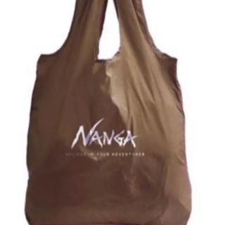 ナンガ(NANGA)のナンガ エコバッグ コヨーテ 新品未開封 1個 (エコバッグ)