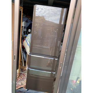 三菱 - 奈良発 2018年製 三菱 自動製氷機能 インバーター 3ドア冷蔵庫 365L