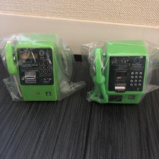 エヌティティドコモ(NTTdocomo)のNTT電話ミニチュアコレクション2つセット(その他)