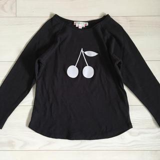 Bonpoint - ボンポワン Tシャツ 4a ロンT カットソー さくらんぼ チェリー