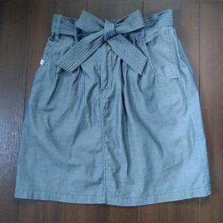 ディーゼル(DIESEL)のディーゼル DIESEL リボン スカート 24サイズ(ひざ丈スカート)